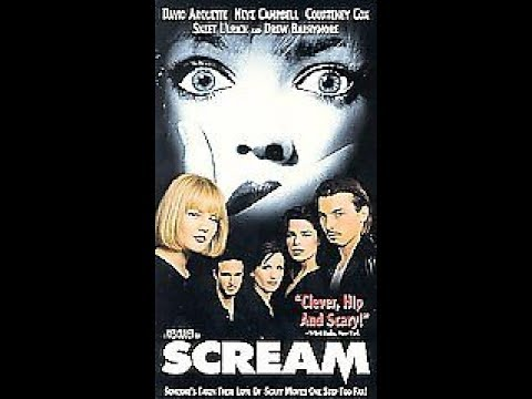 Opening To Scream 1997 VHS