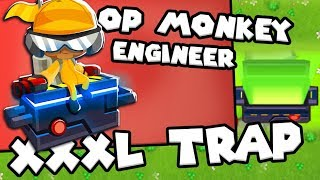 Bloons TD 6 - XXXL Trap Monkey - Tier 5 Engineer Monkey | JeromeASF