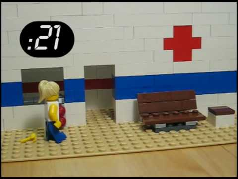 Obama Health Reform and Wait Times Visualization (In Lego!)