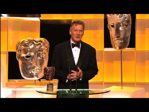 Palin - The recipient of the BAFTA Fellowship award Michael Palin speaks to Jenni Falconer backstage at the Arqiva British Academy Television Awards in 2013. More Te...