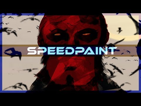 Hellboy Speedpaint on PSD OfficeBosch - Thời lượng: 10 phút.