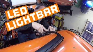 7. Kubota RTV X1100c LED Light Bars Finalized pt 1