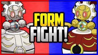 Magearna vs Original Color Magearna | Pokémon Form Fight by Ace Trainer Liam