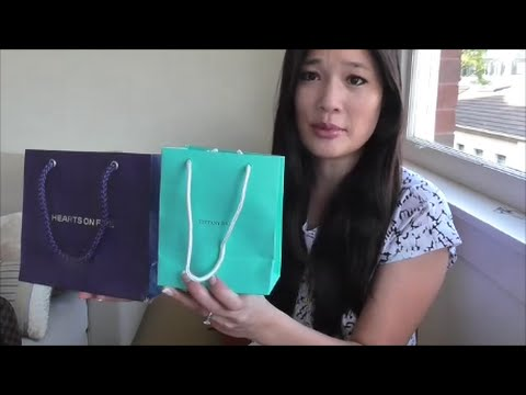 Tiffany & Co Solitaire Diamond Ring!! and Hearts on Fire!! Halo Diamond Ring Reveal/Review