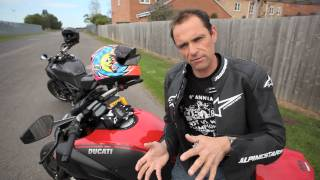 8. Ducati Diavel Ohlins suspension upgrade test - Brands Hatch