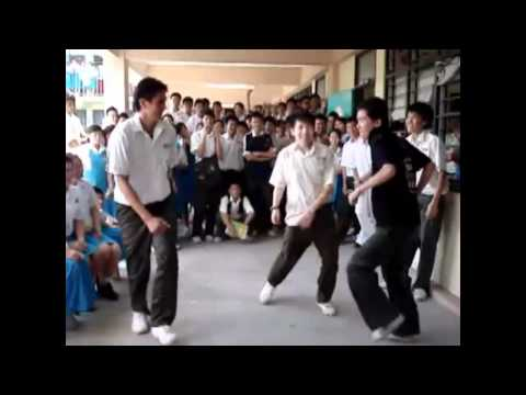 shuffle malaysian - some street dance at school in our country....