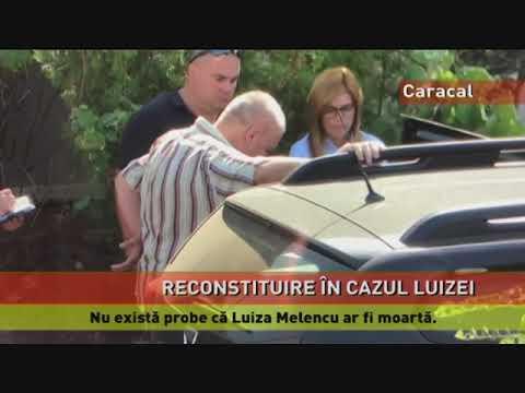Reconstituire la Caracal, în cazul dispariției Luizei Melencu