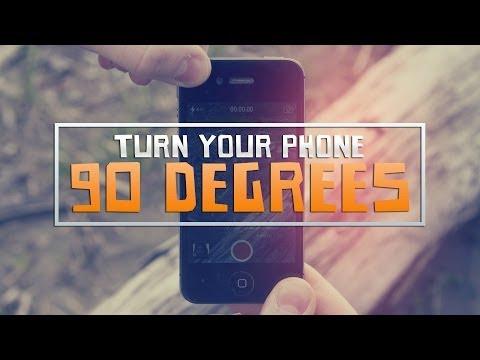 Forgasd el a telefonod 90 fokkal, ha videózol