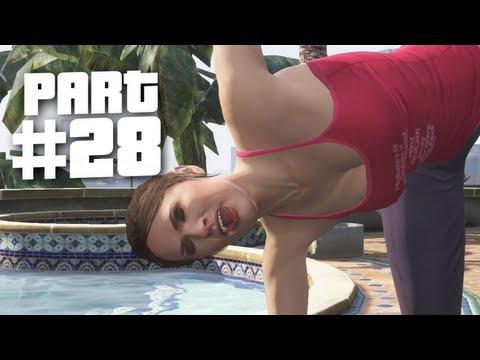 Grand Theft Auto 5 Gameplay Walkthrough Part 28 - Yoga (GTA 5)