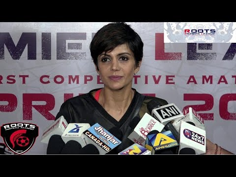Mandira Bedi At Inauguration Of Roots Premier League Spring Season 2018