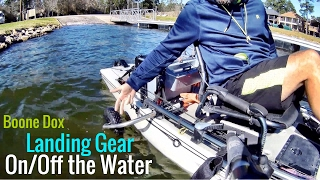 **EASY** Getting your HOBIE PA on/off the WATER!  (Boone Dox Landing Gear)