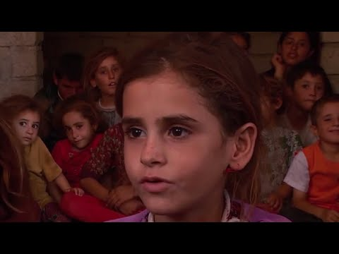 Iraq: Children traumatised by the terror of flight