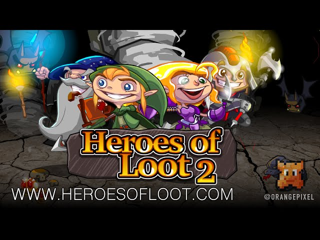 Heroes of Loot 2 - procedural dungeon crawling action adventure