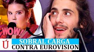 Video Salvador Sobral carga contra Netta, Israel y Eurovision 2018 antes de la segunda semifinal y final MP3, 3GP, MP4, WEBM, AVI, FLV Mei 2018