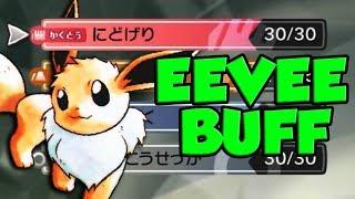 NEW Eevee Changes and Pokemon Let's Go Effort Value Breakdown! by Verlisify