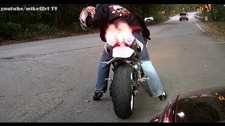 4. Crazy Guy Riding 2007 Yamaha R1 With Yoshimura Exhaust - Beautiful Yamaha YZF-R1 Sound