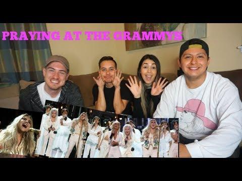 KESHA LIVE AT THE GRAMMYS 2018 - PRAYING {REACTION VIDEO}