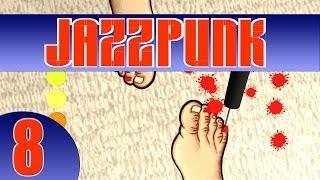 Der 8. Part des wahnwitzigen Comedy-Adventures Jazzpunk!-----------------------------------------------------------------------------►FACEBOOK: • http://www.facebook.com/KOSAFilm►TWITTER:• http://twitter.com/#!/KOSAFilmYT►OFFIZIELLE STEAM GRUPPE:• http://steamcommunity.com/groups/KOSAFilm►OFFIZIELLER FANSHOP:• http://kosafilmshop.spreadshirt.de/►GRAFISCHES GÄSTEBUCH ZUM REINMALEN:• http://www.graphicguestbook.com/kosafilm-------------------------------------------------------------------------«JAZZPUNK»Comedy-Adventure von Necrophone Games (2014).Offizielle Seite: http://necrophonegames.com/jazzpunk/«LET'S PLAY JAZZPUNK»Kommentiertes Gameplay von KOSAFilm (2014).