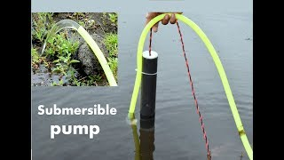 How to make Powerful Submersible pump - at home - easy way https://youtu.be/Aqa8Q0bh8nUMusic-Song: Elektronomia - Limitless [NCS Release] Music provided by NoCopyrightSounds.Video: https://youtu.be/cNcy3J4x62M