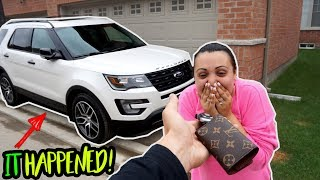 Tina has been asking for a new car for so long..it was time to actually go and get her this car!! It's her favorite car!! LIKE for more!