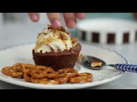 How to Make: Frozen Custard Brownie Bowls