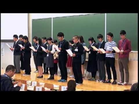 """「ぼうさい甲子園 」10周年記念フォーラム-8:子どもたちによる""""ぼうさい未来""""宣言"""