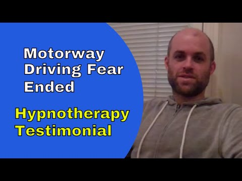 Driving fear ended with hypnotherapy in Ely for Matt