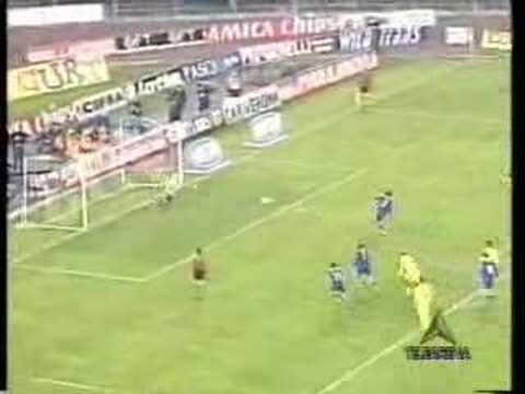 Le derby historique de 2001 entre l'Hellas et le Chievo