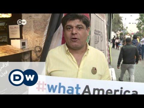 Israelis and Palestinians talk US politics   DW News