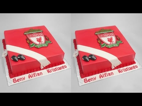 Liverpool Cake Decoration Tutorial