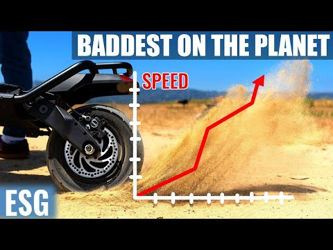 Baddest Scooter On The Planet | Kaabo Wolf Warrior 11 Review