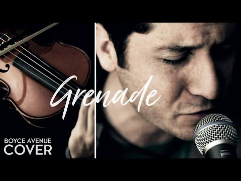 Bruno Mars - Grenade (Boyce Avenue acoustic cover) on iTunes‬ & Spotify Video