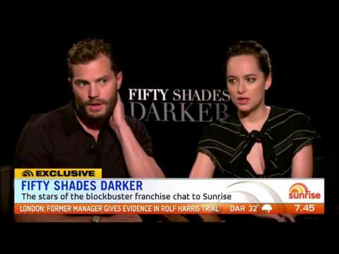 "Jamie Dornan and Dakota Johnson Interview – ""Fifty Shades Darker"""