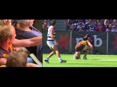 hawthorn - This is spine tingling documentary even if you are not a hawk supppor. Kokoda Preseason Clarkson pre-grand final address Grand Final Post grand final address.