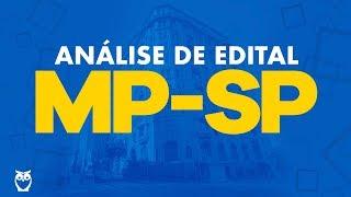 Concurso MP-SP 2018: Análise de Edital Analista Jurídico