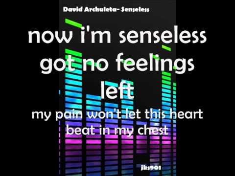 David Archuleta- Senseless [w/ lyrics+ Download]
