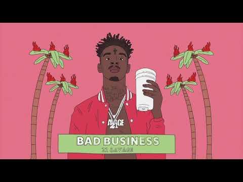 21 Savage - Bad Business Instrumental (Reprod. david-creator) Remastered