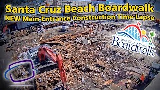 Nonton Santa Cruz Beach Boardwalk NEW Main Entrance Construction Time-Lapse Film Subtitle Indonesia Streaming Movie Download