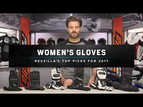 Best Women's Motorcycle Riding Gloves 2017 at RevZilla.com