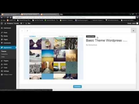 how to convert html to wordpress