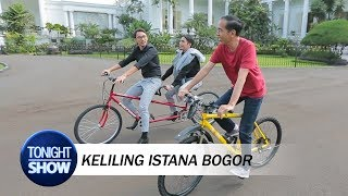 Download Video Asyiknya Vincent Desta Santai Bareng Presiden Jokowi MP3 3GP MP4