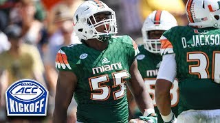 The Miami Hurricanes have one of the best returning defensive fronts in the country. Linebacker Shaquille Quarterman told the ACC Digital Network why he thinks his defense can get even better in 2017 while running back Mark Walton heaped some major praise on his teammates on the other side of the ball. SUBSCRIBE: http://bit.ly/Oqg3iEThe ACC Digital Network (theACCDN) is a joint venture between Silver Chalice, a leading digital sports and entertainment media firm and Raycom Sports, a long-time television producer and partner of the Atlantic Coast Conference.  The cross-platform digital video network covers the spectrum of one of the nation's top intercollegiate athletic conferences, featuring both live programming and original on-demand content throughout the entire year.  All ACCDN videos are viewable on theACC.com, the ACC mobile and tablet app, as well as various streaming and connected mobile and TV devices such as Amazon Fire, Apple TV, go90TM and Roku. For more information, visit theACC.com and follow @theACCDN on Twitter, Instagram and Snapchat.Connect with the ACCDigitalNetwork Online:Visit the ACC WEBSITE: http://theacc.comVisit the ACC Facebook: https://www.facebook.com/theACC/Follow the ACCDN on Twitter: https://twitter.com/theACCDNFollow the ACCDN on Instagram: http://instagram.com/theACCDNhttp://www.youtube.com/user/ACCDigitalNetwork