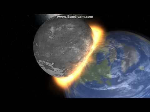 Universe Sandbox 2 - Theia Collision w/ Earth