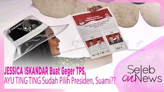 Download Video JESSICA ISKANDAR Buat Geger TPS, AYU TING TING Sudah Pilih Presiden, Suami?? – SELEB ON NEWS 18/4 MP3 3GP MP4