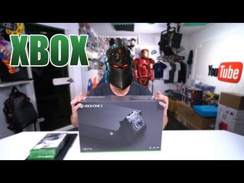 IST DIE XBOX ONE X BESSER ALS DIE PS4? FORTNITE TEST   Unboxing - Review [Deutsch/German]