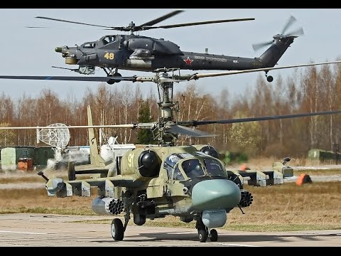 2 awesome Russian choppers showing...