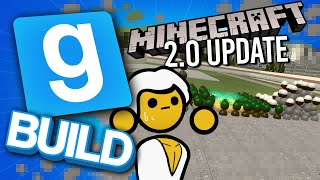 The Minecraft Update We've Been Waiting For! | Gmod Build Challenge