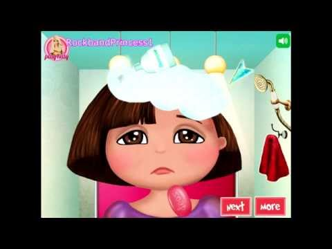 Baby Video – Dora The Explorer Hair Game For Kids