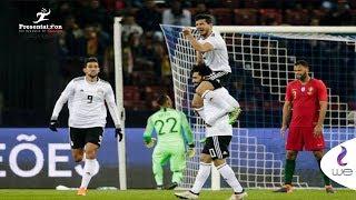 مصر والبرتغال   ملخص كامل لـ المباراة الودية مصر vs البرتغال   1 - 2 Portugal vs Egypt
