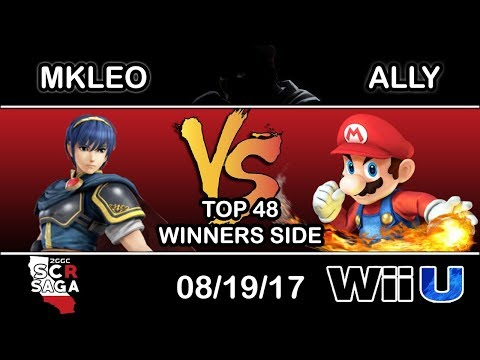 2GGC: SCR Saga - Echo Fox MVG | MKLeo (Marth) Vs. C9 | Ally (Mario) - Top 48 Winners Side